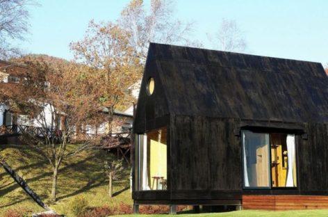 Ngôi nhà Hàn Quốc 20 m2 tiện nghi giữa đồng cỏ