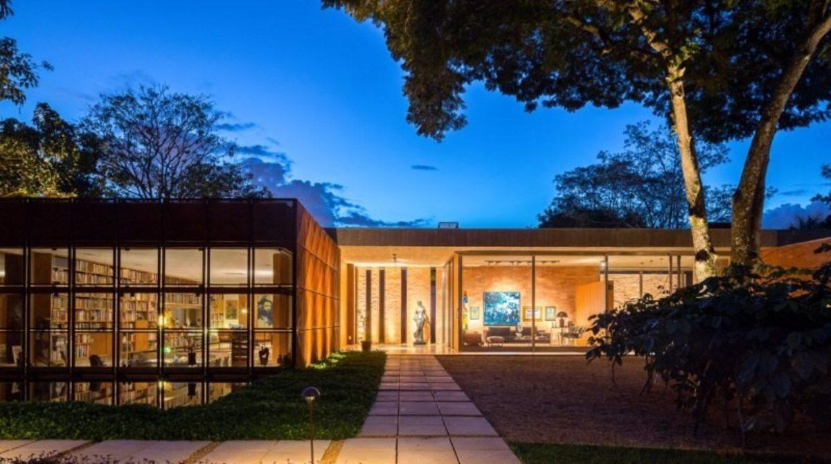Những ngôi nhà hiện đại ở Brazil