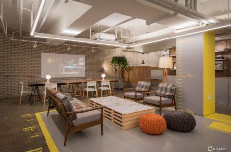Thiết kế văn phòng mới của MR.HOMES do studio INTU:NE thực hiện