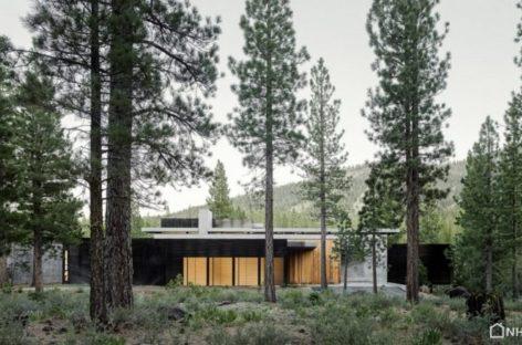 Creek House- Ngôi nhà bảo vệ những tảng đá trên dốc núi California