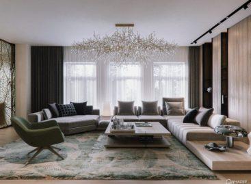 Ngôi nhà hiện đại với nội thất mang phong cách Eco