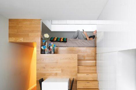 Những thiết kế gác xép hiện đại cho không gian hẹp