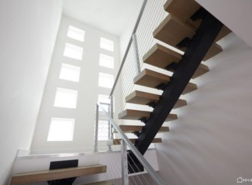 Thiết kế cầu thang khiến ngôi nhà trở nên hiện đại hơn