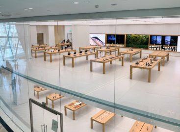 Hình ảnh Apple Store thứ hai ở Singapore bên trong sân bay Changi