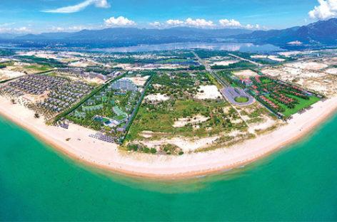 Khu du lịch Bắc bán đảo Cam Ranh: Đổi thay kỳ diệu từ miền biển vắng