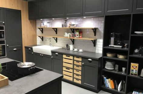Một số gợi ý thiết kế kệ bếp đẹp và tiện lợi cho gia đình