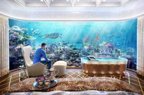 Hà Nội Golden Lake: Dát vàng từ ngoại thất đến nội thất, bể bơi vô cực
