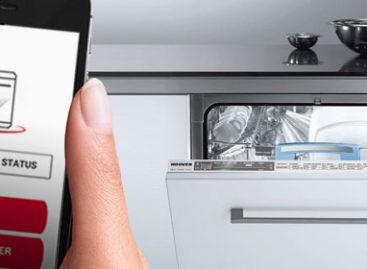 Máy rửa bát điều khiển bằng smartphone