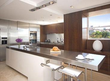 Những mẫu phòng bếp lý tưởng cho năm 2012
