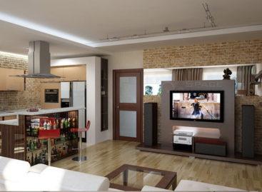 Cách mộc mạc trong trang trí nội thất sử dụng gạch trần