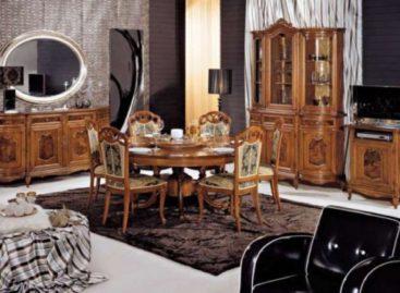 Những bộ bàn ghế sang trọng mang phong cách Italia cổ điển