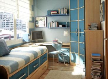 Phòng ngủ diện tích hẹp cho trẻ