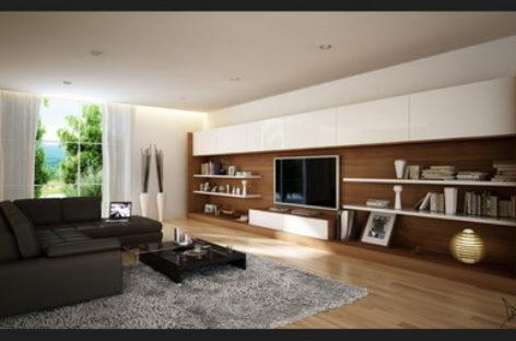 Những thiết kế phòng khách ấn tượng