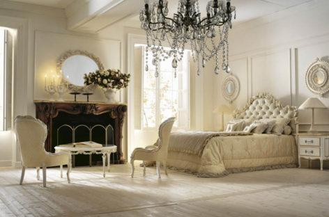 Phòng ngủ phong cách Italia quý tộc
