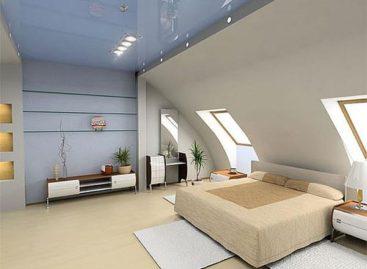Những thiết kế phòng ngủ tầng áp mái tuyệt vời nhất