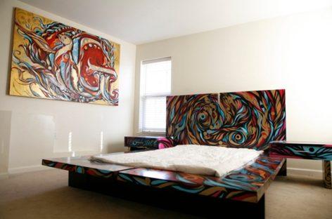 Thêm thú vị với thiết kế phòng ngủ tuyệt vời