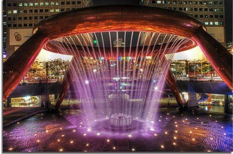 Đài phun nước Wealth ở Suntec – Singapore