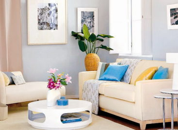 Sắc màu phòng khách mùa hè (Phần 2)