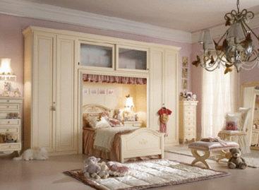 Phối hợp nội thất phòng ngủ cùng tông màu kem