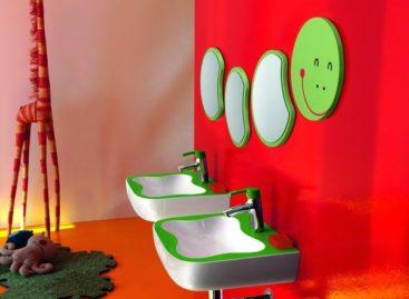Ngộ nghĩnh và đầy màu sắc với phòng tắm trẻ em của Laufen