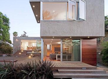 Redesdale – thiết kế hiện đại với bê tông, gỗ và kính