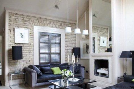 Vẻ đẹp huyền bí của căn hộ trắng đen