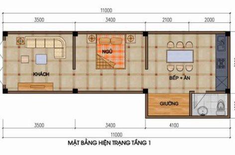 Tư vấn thiết kế, sắp xếp căn hộ 33m2 cho 4 người ở