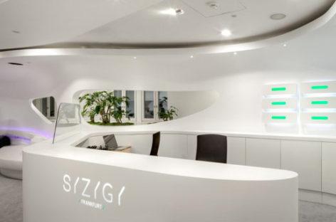 Ấn tượng với văn phòng làm việc hiện đại ở Frankfurt