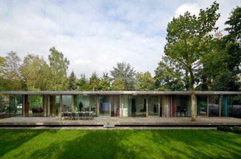 Hoà mình cùng thiên nhiên với biệt thự Berkel (Veenendaal – Hà Lan)