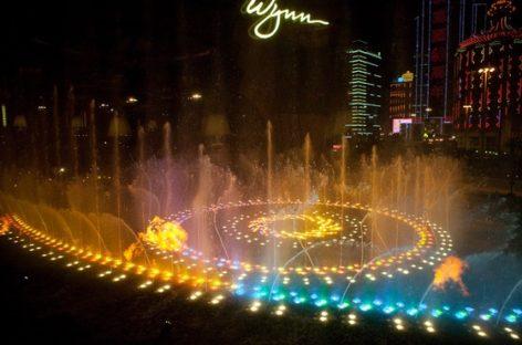 Đài phun nước Performance Lake ở Wynn Macau