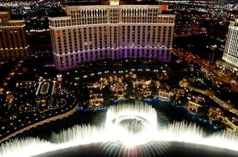 Đài phun nước Bellagio – Las Vegas