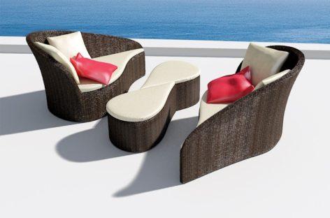Trang nhã với mẫu ghế sofa ngoài trời Fiore