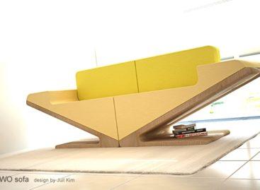 Ấn tượng với phong cách sofa có thể biến đổi linh hoạt