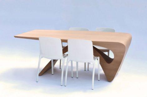Gợi cảm với những đường cong của chiếc bàn Form Follows Function