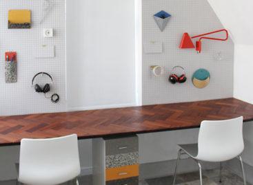 Văn phòng làm việc theo phong cách tối giản của hãng phim Emu