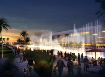 Đài phun nước nghệ thuật Morocco Mall đánh thức giác quan của bạn