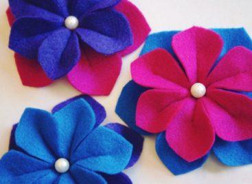 Làm hoa vải đa dụng cực xinh