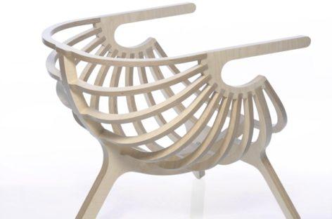 Vẻ đẹp tinh tế của chiếc ghế được lấy cảm hứng từ biển của Branca Liboa