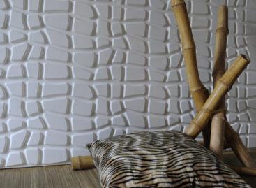 Bức tường 3D tái chế độc đáo và đẹp mắt!