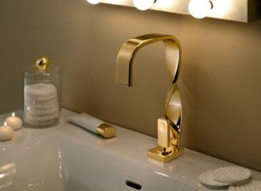 Những đường nét duyên dáng và sang trọng của chiếc vòi nước Nastro