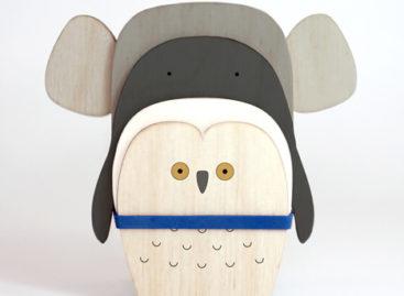 Flat Zoo – Những con vật đáng yêu được làm từ gỗ lát mỏng