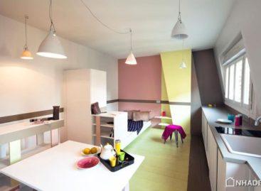 Nét trang nhã và ấm áp của căn hộ 23m2 ở Paris