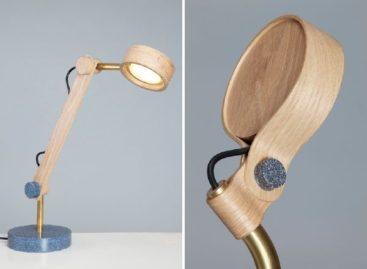 Những chiếc đèn bàn độc đáo và tinh tế của Asaf Weinbroom