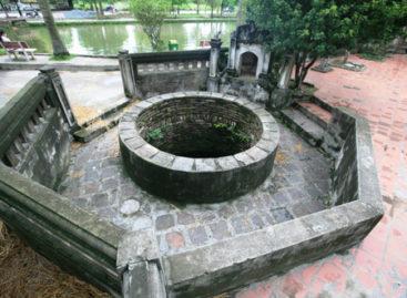 Giếng làng xưa trong thời hiện đại