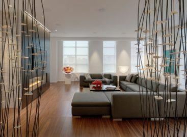 Kiến trúc đương đại trong căn hộ penthouse Yorkville