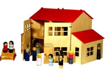 Cùng bé đóng vai trong câu chuyện gia đình với bộ đồ chơi Detacho