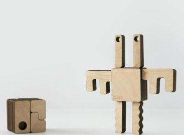 Mr Cube – Bộ sưu tập các mảnh ghép hình nhân bằng gỗ