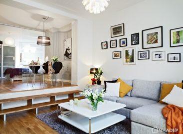Không gian mở – giải pháp tối ưu cho căn hộ nhỏ