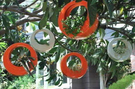 Tạo sự nổi bật cho khu vườn nhà bạn với thiết kế chậu hoa của Potted