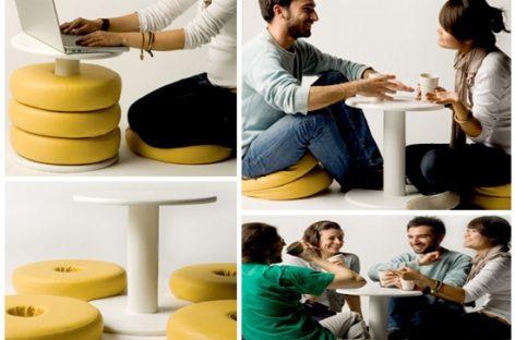 Chiếc bàn đa chức năng cho không gian nhỏ hẹp